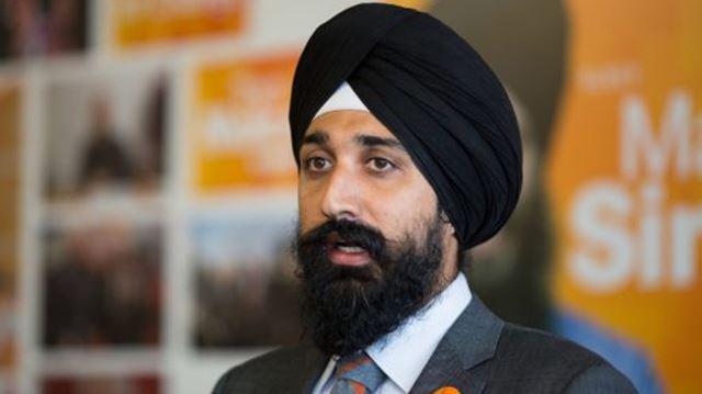 Brampton East NDP candidate Harbaljit Kahlon.