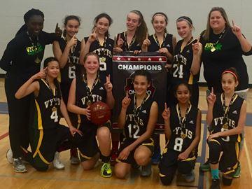 Oakville Vytis 2 wins OBA bantam girls division 3 gold