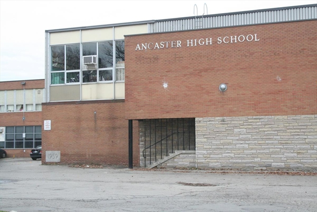 Ancaster High School evacuated over natural gas smell
