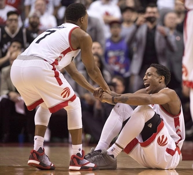 Shoelace helped DeRozan to strong Game 5
