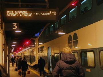 Train talks