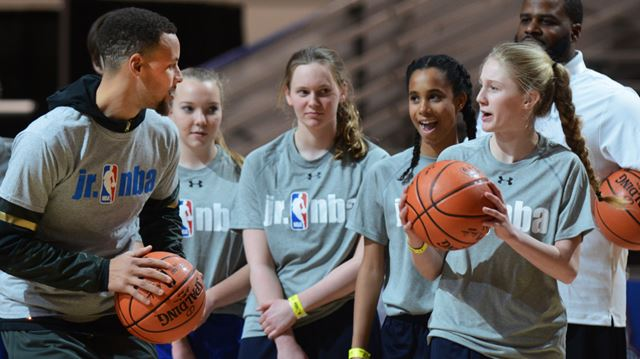 York students ball with NBA All-Stars