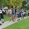 Meaford high schoolers cheer arrival of elementary students