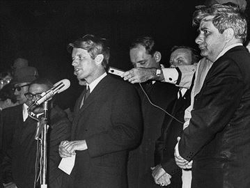 RFK, Indianapolis, April 4, 1968