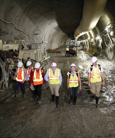 Light-rail tunnel now more than half excavated; Feds still not committ– Image 1