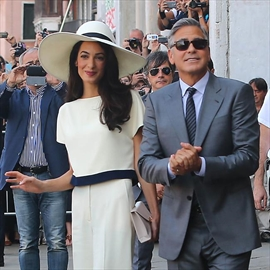 George and Amal Clooney throw post-wedding party-Image1