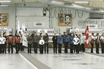 Ontario Scotties Tournament of Hearts opening ceremonies held at Penetanguishene Curling Club