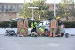 Woman brought back to life following Burlington car crash