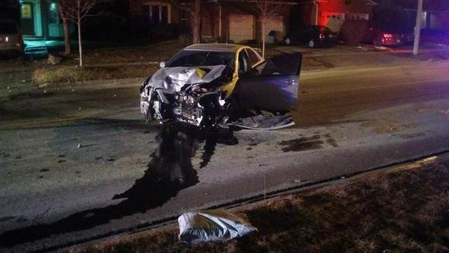 Drunk driving charge after driver flees cops, Pickering crash