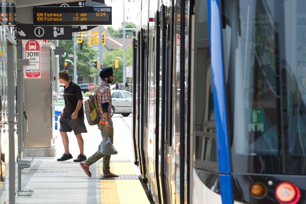 Public transit numbers on the rise since Ion launch in June
