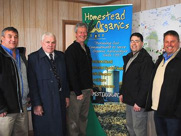 Organic farming business makes move into southwest