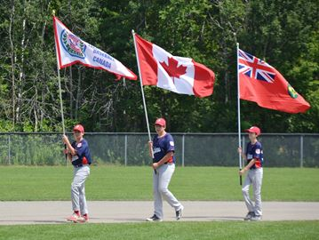 Little League provincials opening ceremonies in Orleans