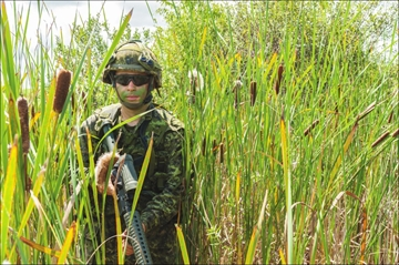 Local reservist participates in first major exercise– Image 1