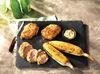 Shake n' Bake Plank-Grilled Turkey Thighs