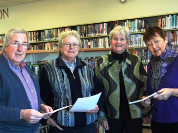 Fascinating finds for Huntley Historical Society at Carp library