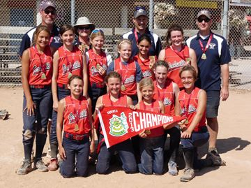 Oakville Angels Win Ontario Squirt Fastpitch Championship