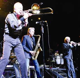 The band Chicago brought the vintage sound of their signature horn section to a packed house at the Rogers K-Rock Centre in Kingston Feb 26th.