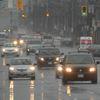 Rain on the roads