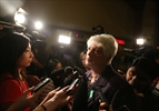 Liz Sandals scrum