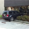 Car slams through front window of Ajax building