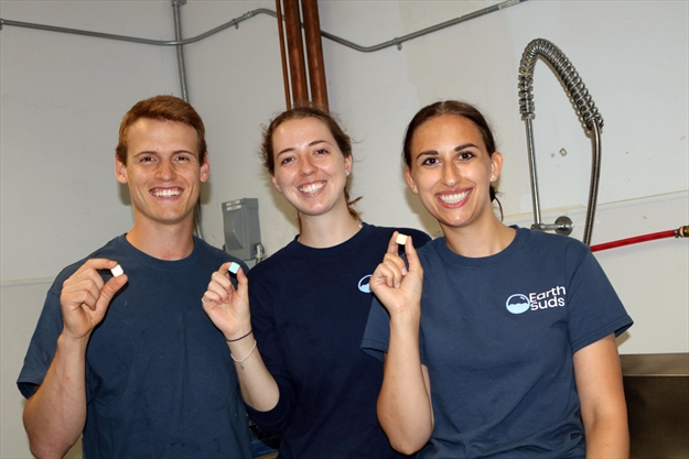 How about a shampoo pod? Laurier team behind 'toiletry tablets' named National Geographic finalist