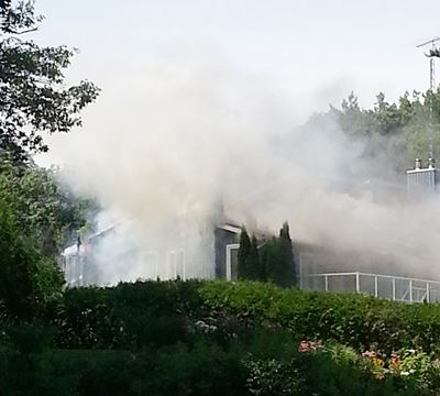 how to clean a fire damaged house