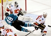 Ramo makes 32 saves to lead Flames past Sharks 2-0-Image1
