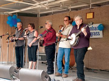 The Tottenham Bluegrass Festival took place at the Tottenham Conservation Area over the weekend, marking the festival's 30th year. This year's lineup featured 11 bands with Chris Jones and The Night Drivers headlining.
