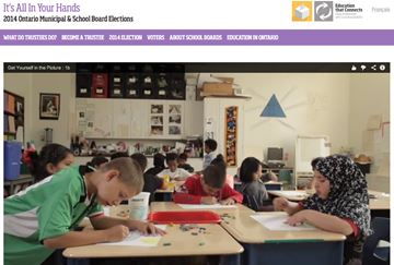 Trustee election website