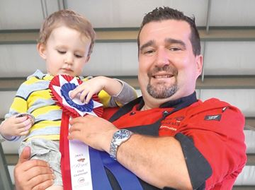 Ormonde wins culinary battle at Barrie Fair