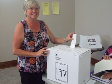 Simcoe North byelection under way