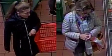 Two women are accused of stealing $800 of cheese from Burlington Fortinos.