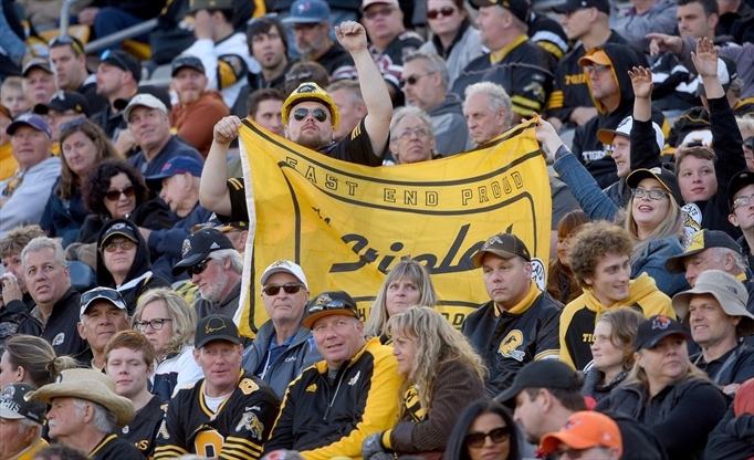 Hamilton Tiger Cats Playoff Game
