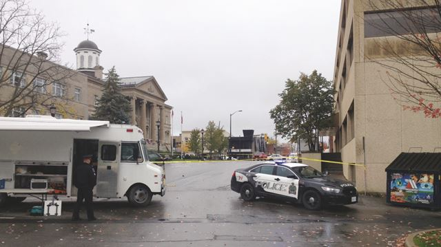 Suspicious package forces evacuation in downtown Welland