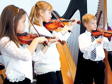 Young violinists