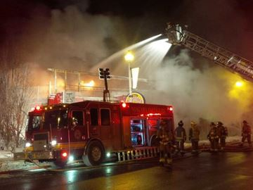 fire niagara falls clifton