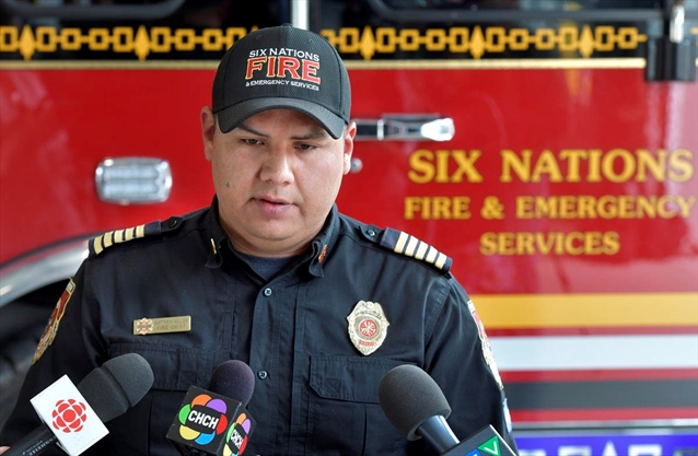 Six Nations fire chief sounds alarm after 'unprecedented' string of fires