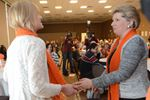 Stouffville's Spirit on display at Orange Scarf Ceremony