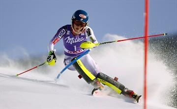 Pietilae-Holmner wins slalom to end 4-year drought-Image1