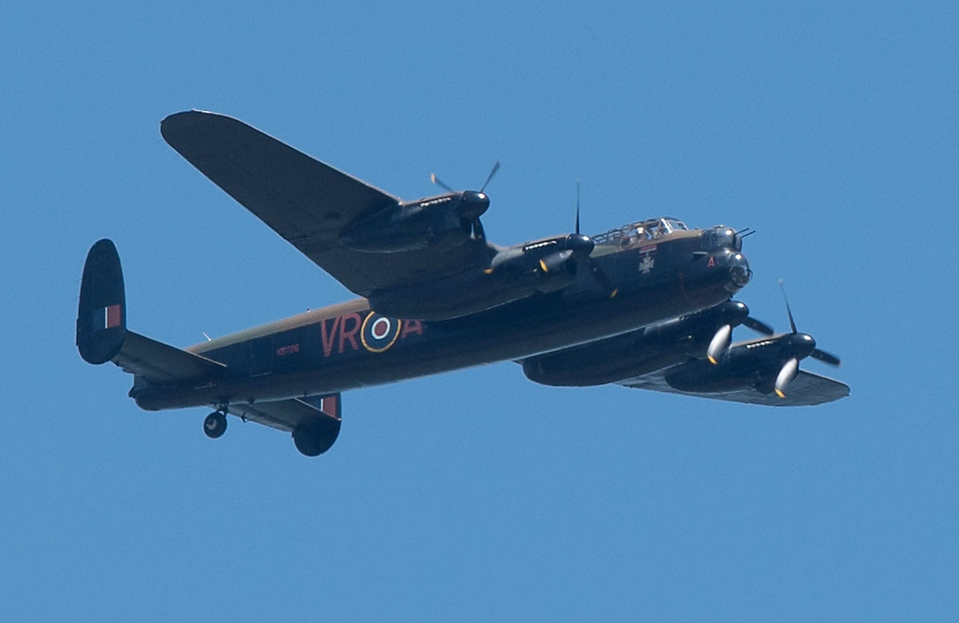 War vet's Lancaster wish is granted at Hamilton's warplane