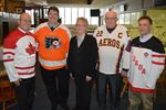 Politicians stand together for Jr. B hockey