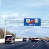 New toll sign for Hwy. 407 and 412