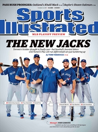 Jays featured on Sports Illustrated cover-Image1