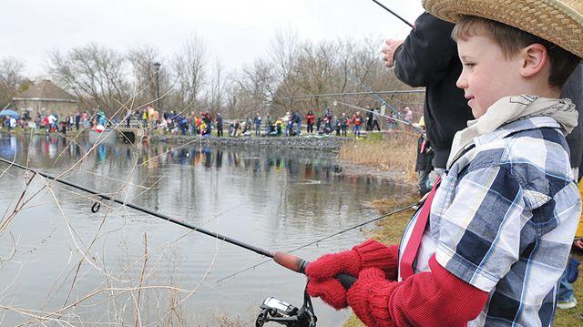 Brampton guardian catching the big fish at uxbridge 39 s for Catching the big fish