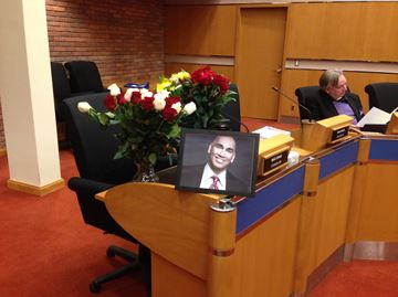 Khan remembered at Oakville council