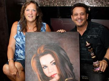 Priscilla painting to be sold at Collingwood Elvis Fest