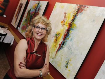 Oakville artist's exhibit shows Colours in Motion