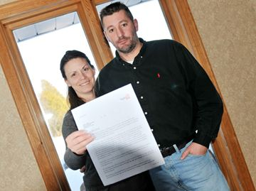 Trish and Wally Kroeger moved into a home in Mulmur in November and haven't received a hydro bill.