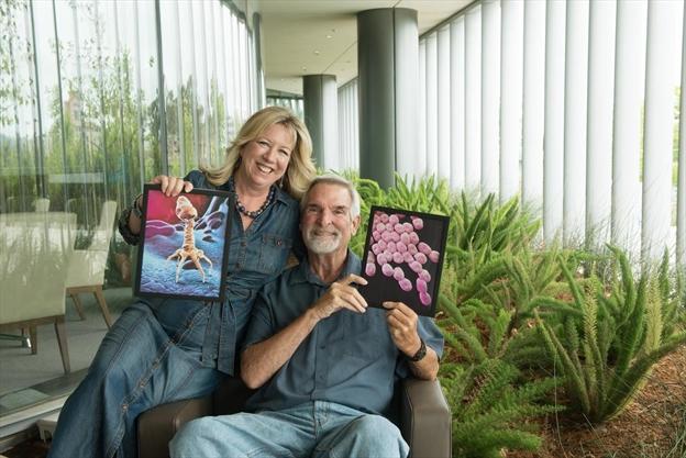 Superbug slayer 'saved her husband's life with sewage'