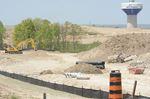 East Gwillimbury construction zone